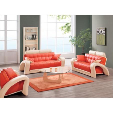 SOFIA Komplet wypoczynkowy, pomarańczowy