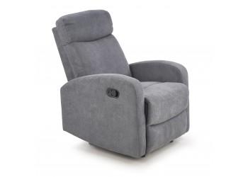 OSLO 1S fotel popiel