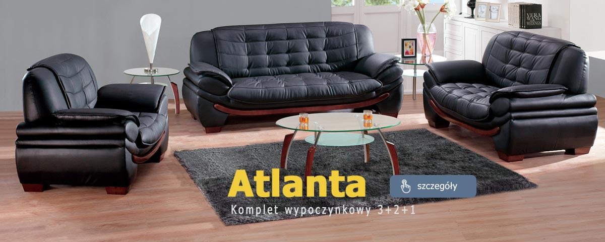 Komplet wypoczynkowy 3+2+1 Atlanta